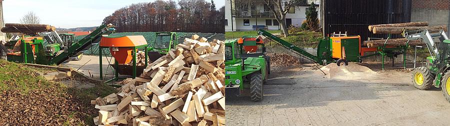Brennholz Reitmayer Adelsried Sägen